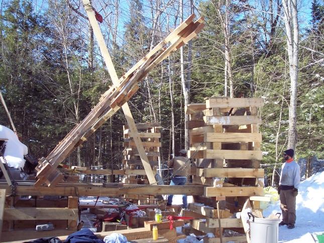 build wood bridge